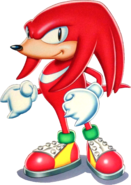 Knuckles S3 artwork US