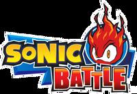 Sonic Battle EN logo