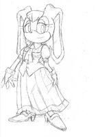 Vanilla Sonic advance 2 SonicX concept art