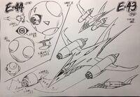 E-43 & E-44 Concept Art