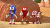 SB S1E12 Team Sonic canyon shocked