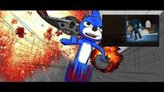 SONIC MOVIE storyboard- Portal Chase