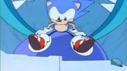 Sonic CD ending 08