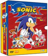Sonic X BRA DVD