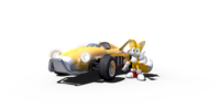 Team Sonic Racing Tails
