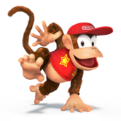 Diddy Kong 3DS Wii U