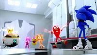SB S1E08 Team Sonic lair transform