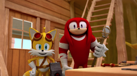 SB S1E45 Tails and Knuckles workshop
