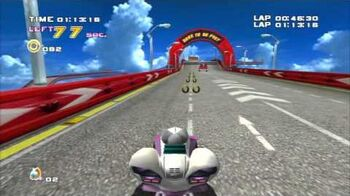Sonic_Adventure_2_(PS3)_Route_280_Mission_1_A_Rank