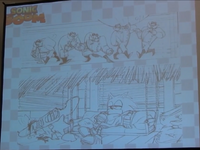 Sonic Boom comic art