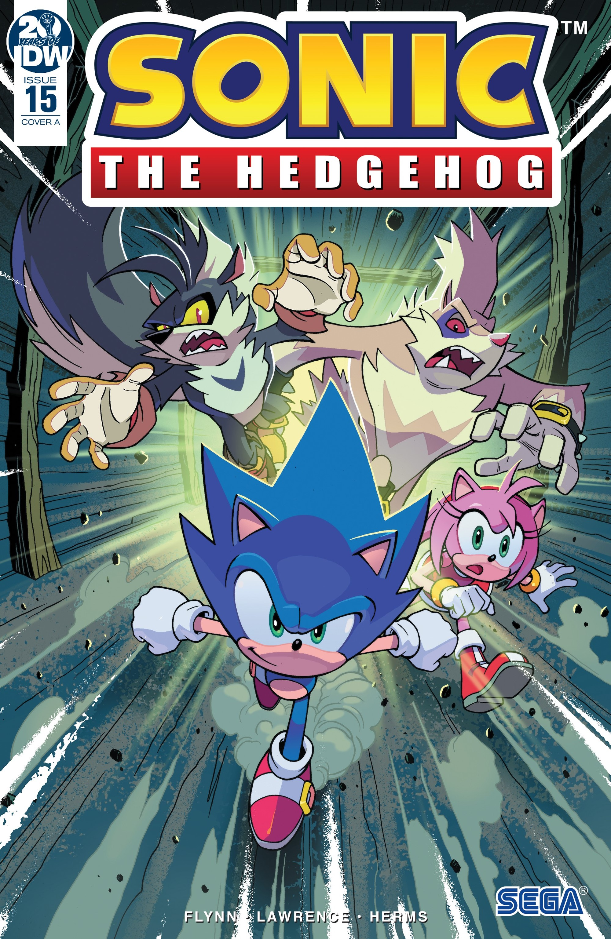 IDW Sonic the Hedgehog Issue 15