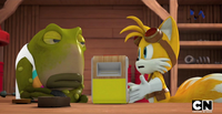 Tails aggravated with Og