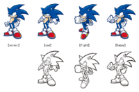 Battle Sonic moods