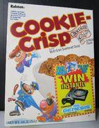 Cookie Crisp cereal box 1992 1