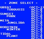 STT Level Select