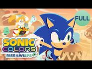 Sonic Colors- Rise of the Wisps Complete