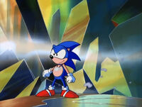 Sonic in the mirror