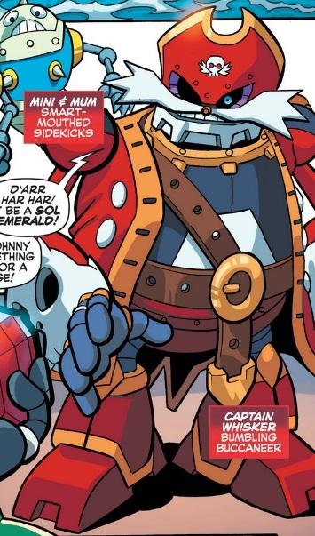 Captain Whisker (Archie)