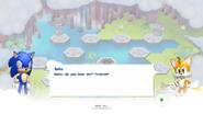 Sonic Runners Adventure screen 2