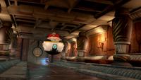 SB S1E22 Sonic Eggman temple hallway