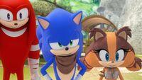 SB S1E27 Knuckles Sonic Sticks joke