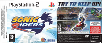Sonic Riders PS2 Promo Cover