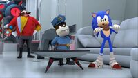 S1E44 Sonic the hero