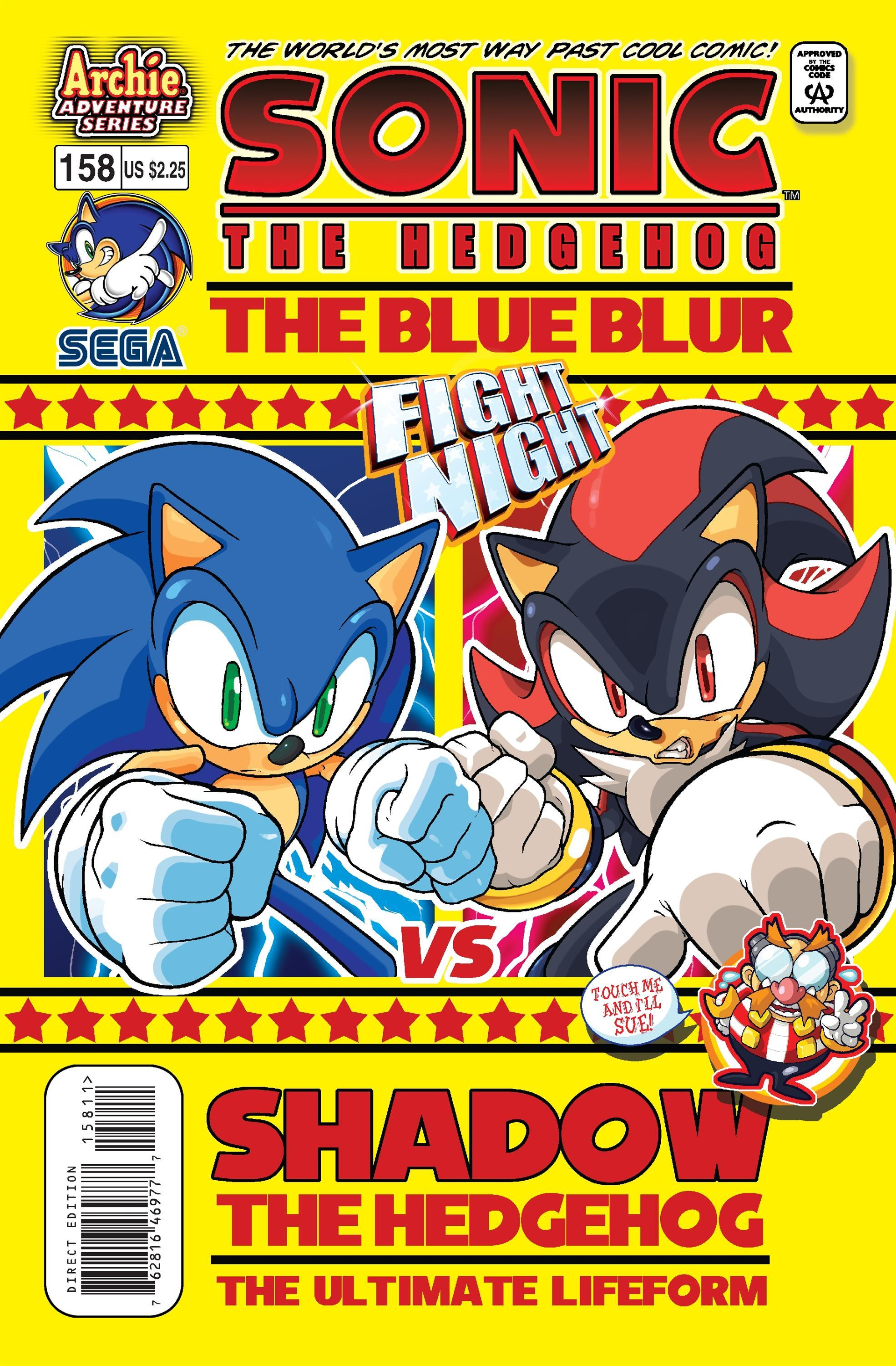 Archie Sonic the Hedgehog Issue 158