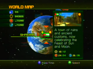 Sonic Unleashed World Map 6