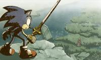 The Sacred Sword Caliburn