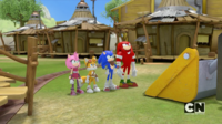 Stop right there Eggman