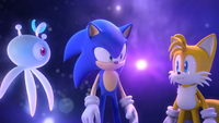 Sonic, Tails and Yacker (Sonic Colors Opening)