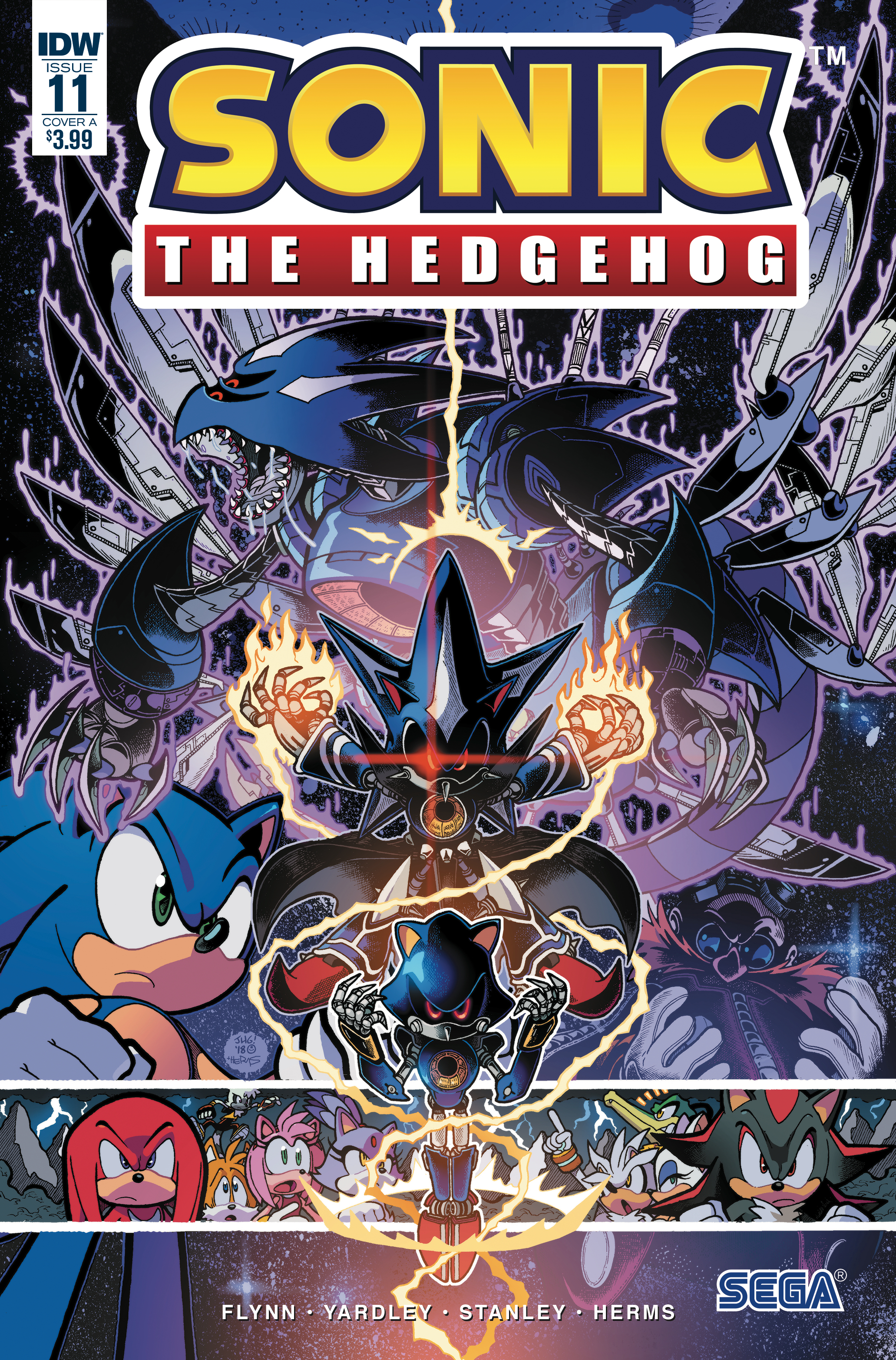 IDW Sonic the Hedgehog Issue 11