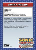 IDWTradingCards - Smithy2
