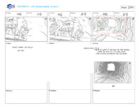 The Curse of the Buddy Buddy Temple storyboard 17