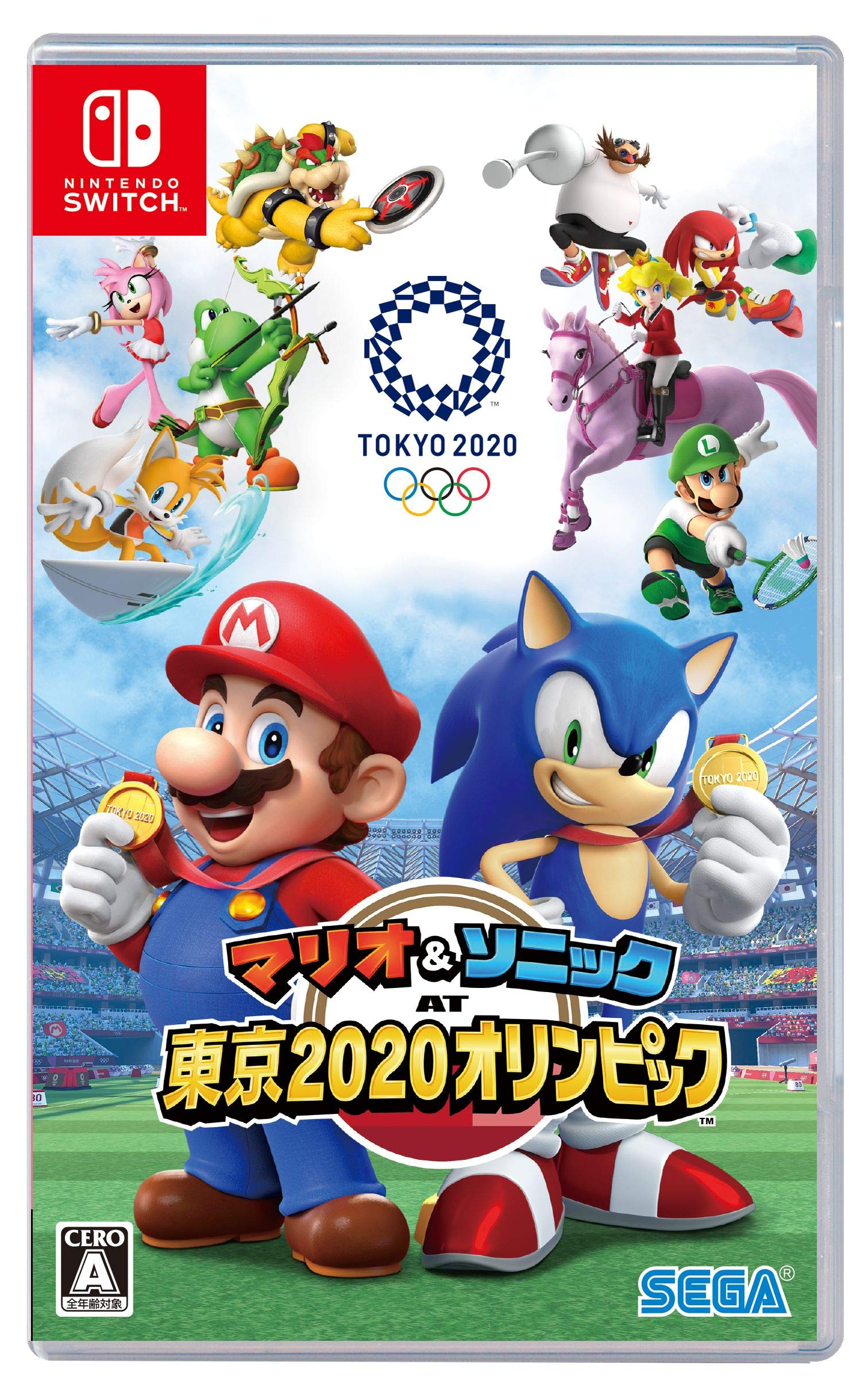 Mario Sonic At The Olympic Games Tokyo 2020 Sonic News Network Fandom