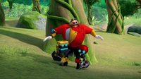 SB S1E22 Orbot and Cubot caressing Eggman