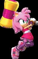SonicDash2BoomAmySwinging her hammer