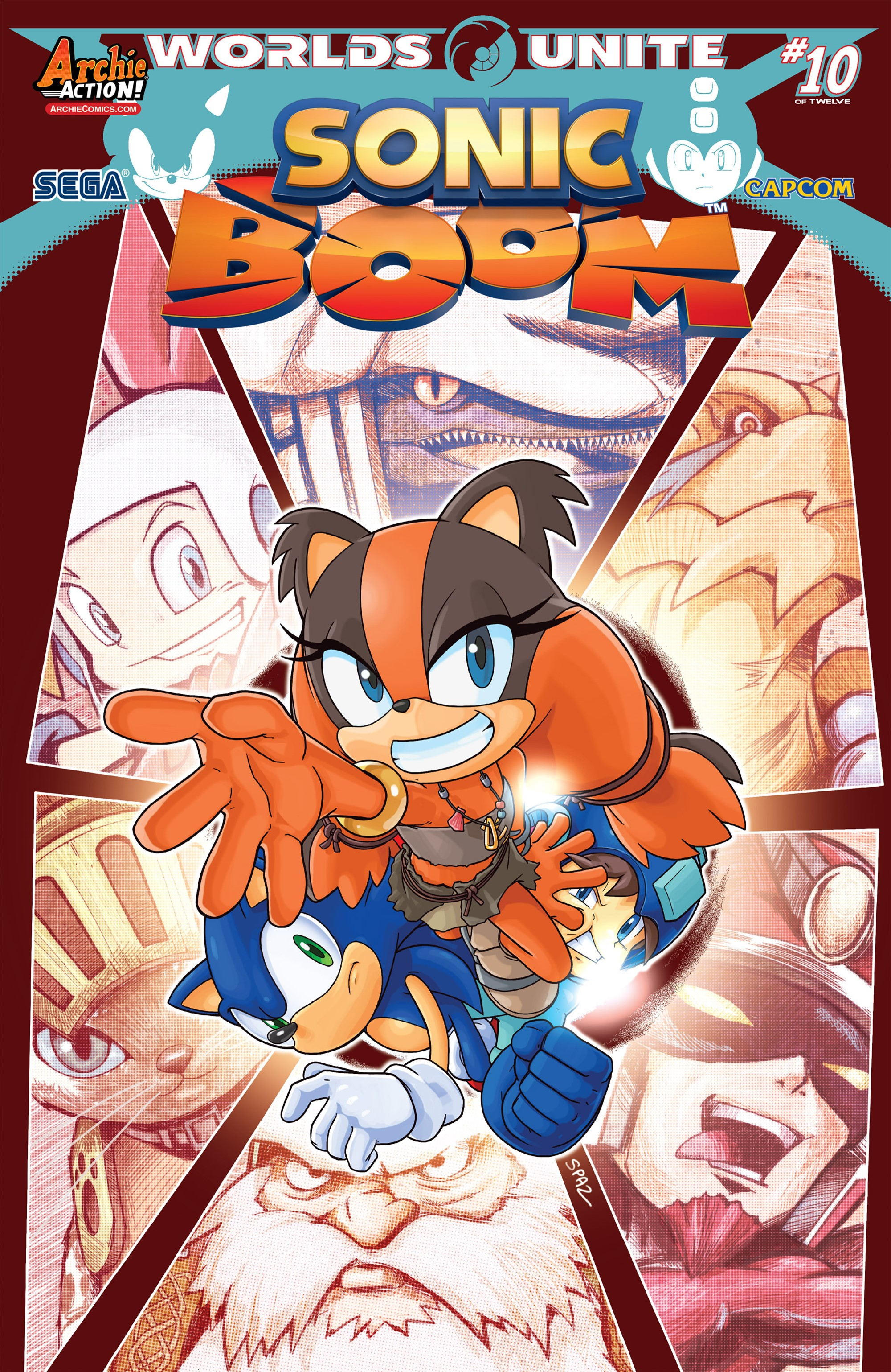 Archie Sonic Boom Issue 10
