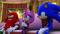 SB S1E04 Knuckles Amy Sonic intervention