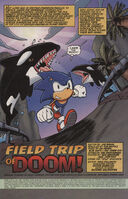 Sonic X issue 3 page 1