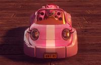 PinkCabrioletFrontCar