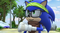 SB S1E44 Hipster Sonic victory