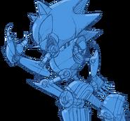 Sonic Channel wallpaper Metal Sonic