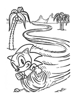 Sonic Paint 'N' Marker book - page 5