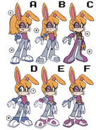Early Bunnie redesign