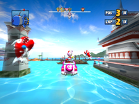 Sonic & SEGA All-Stars Racing Ocean Ruin 9