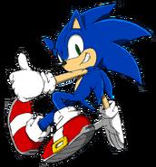 Sonic Channel 2012 art