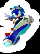Zero Gravity Sonic art