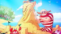 SB S1E14 Eggman Spring Break sand castle